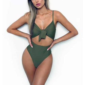 Ava Push Up Monokini Swimsuit