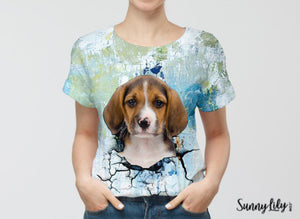 CUSTOMIZED DOG PHOTO T-SHIRT