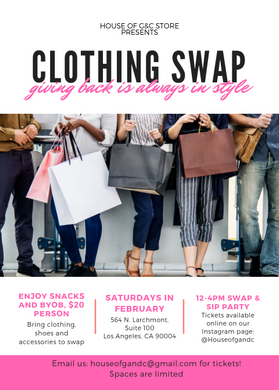 Give more, Get More! Clothing Swap Parties