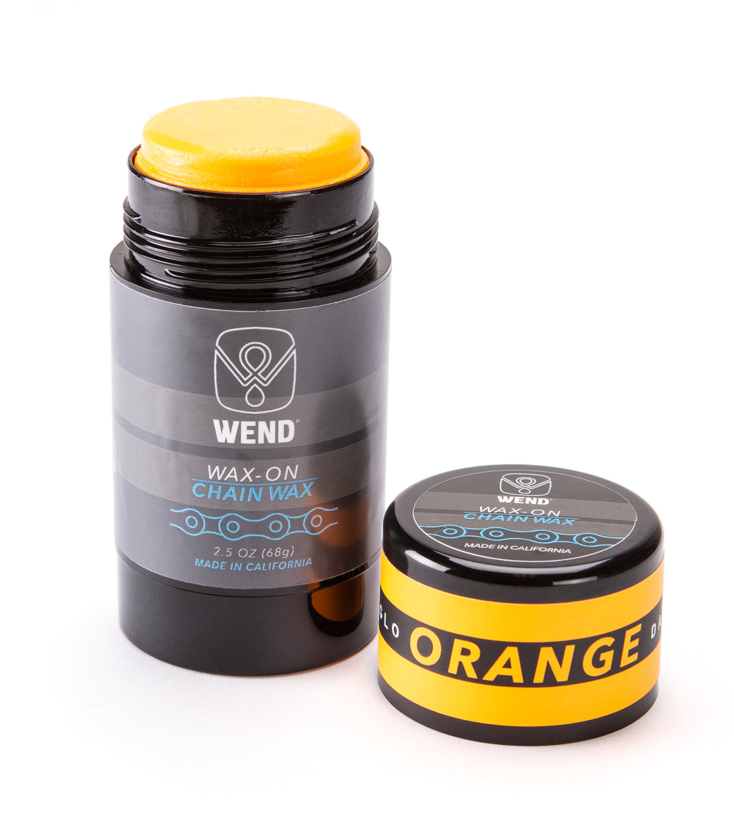 ORANGE WEND Wax-On Chain Wax Twist Up Paste