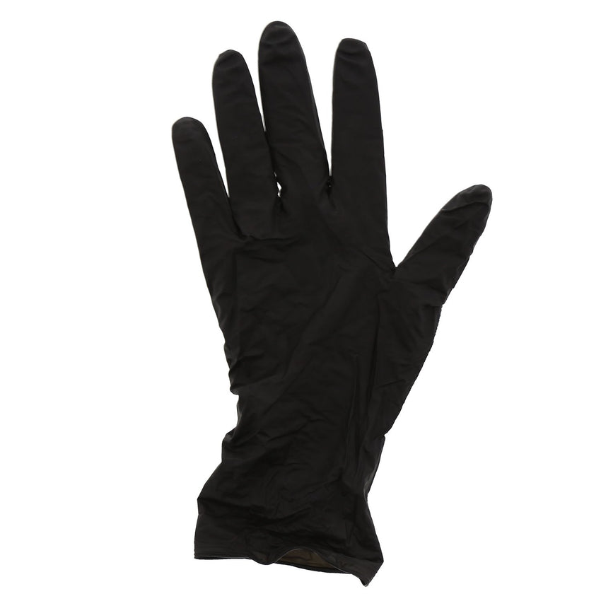 Black Widow Nitrile Gloves, Exam Grade, Powder Free, Individual Glove