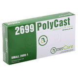 Polycast Embossed Gloves, Powder Free, Inner Box
