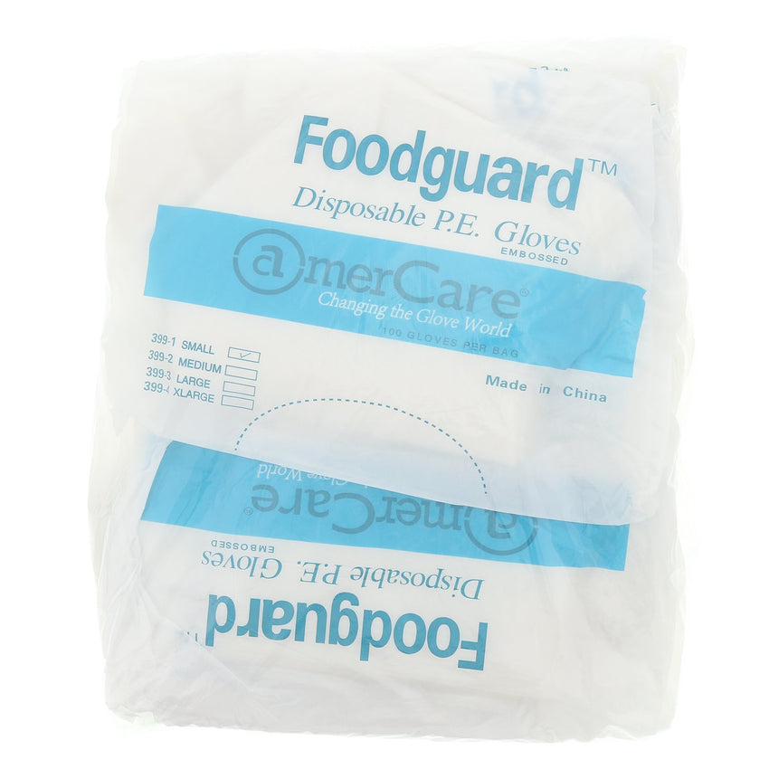 Foodguard Poly Gloves, Powder Free, Inner Package
