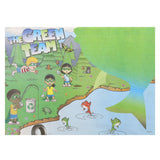 "Activity Sheet, Green Team Theme, Full Color, 14"" x 10"""