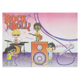 "Activity Sheet, Rock N Roll Theme, Full Color, 14"" x 10"""