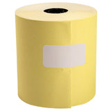 "Yellow Bond Roll, 3"" x 165', 1 Ply, 7/16"" ID Core"