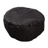 Large Black Disposable Beanie Caps