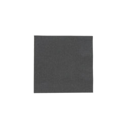 Black Beverage Napkin, 2-Ply, 10
