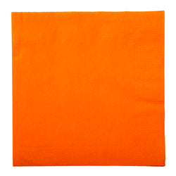 Orange Beverage Napkin, 2-Ply, 10
