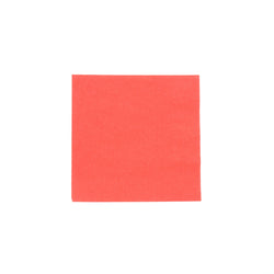 Red Beverage Napkin, 2-Ply, 10