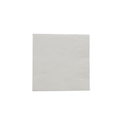 White Beverage Napkin, 2-Ply, 10