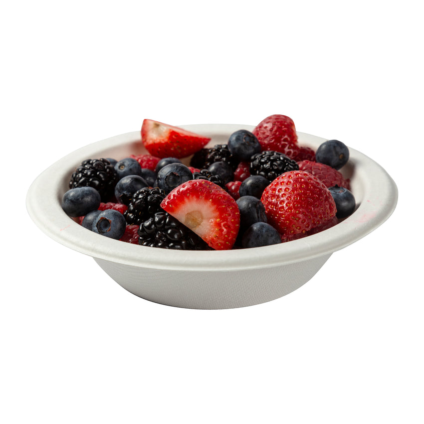 12 oz Round Bowls, Bowl With Food Content