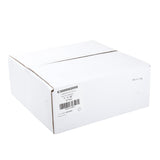 "Carbonless Rolls, White-Canary, 3"" x 92', with 7/16"" ID Core, Closed Case"