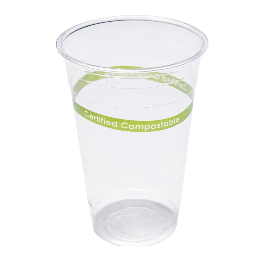 20 oz Compostable Clear PLA Cup