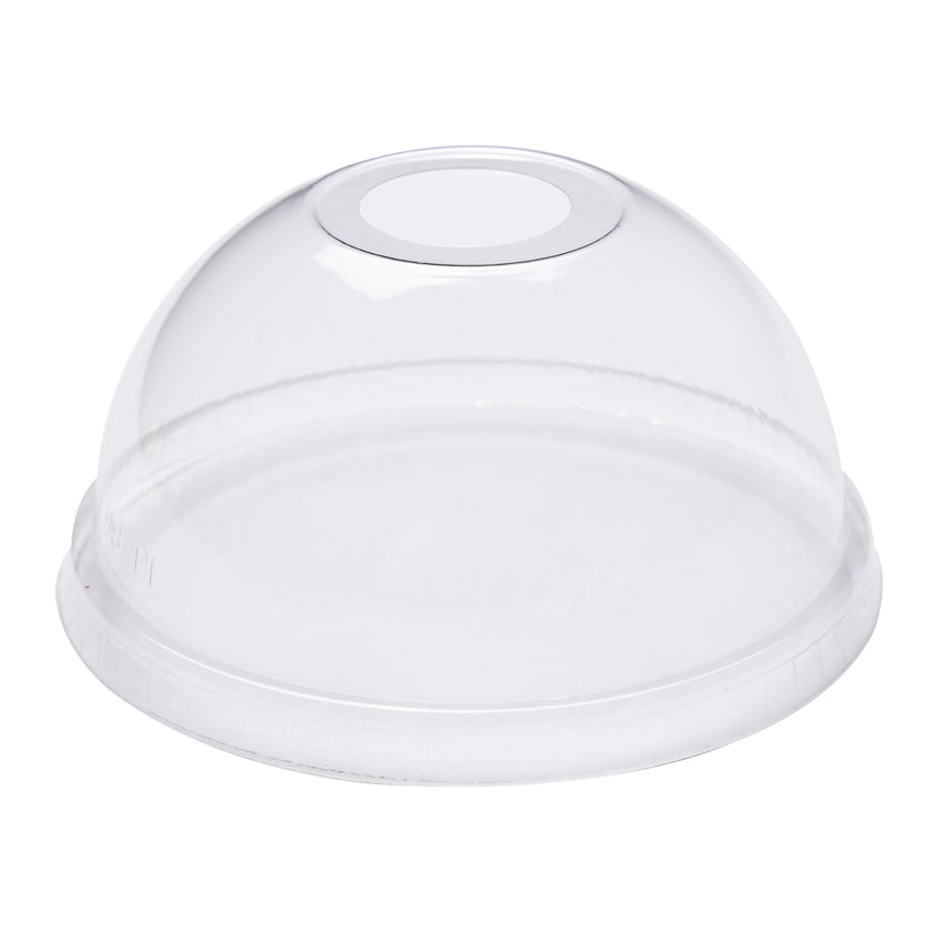 12-24 oz Compostable Clear CPLA Dome Lid