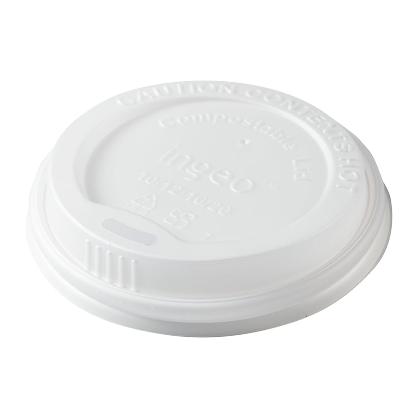 10-20 oz Compostable CPLA Hot Cup Lid