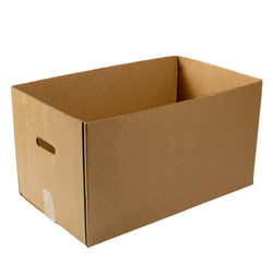 Kraft Corrugated Carry Out Box