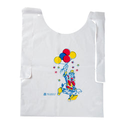 Children's Poly Bib with Clown Design