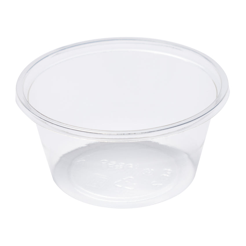 2 OZ COMPOSTABLE CLEAR PLA PORTION CUP