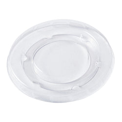 2 oz Compostable Clear PLA Lid
