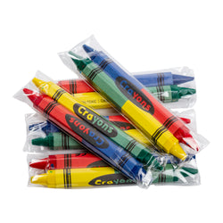 CRAYON, DOUBLE END HONEYCOMB,CELLO 2PK,80MM,250PKS, 2 INNER