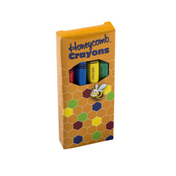 Honeycomb Crayons, 4-Pack Box