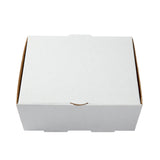 Medium White Corrugated Take Out Box