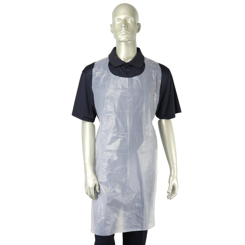 "28"" x 46"" Lightweight Poly Apron, Apron On Mannequin"
