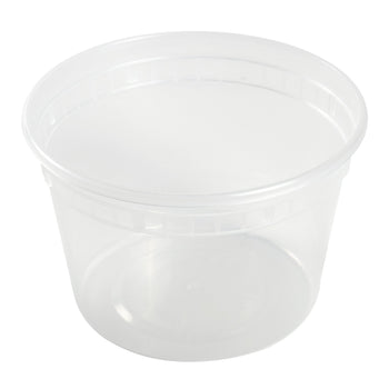 16 Oz Clear Polypropylene Deli Container