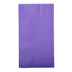 Purple Dinner Napkin, 2-Ply, 15