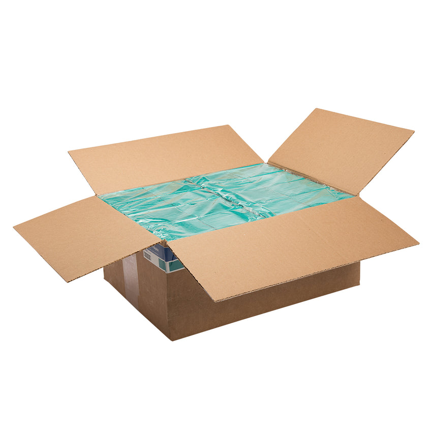 "Teal Dinner Napkin, 2-Ply, 15"" x 17"", Open Case"