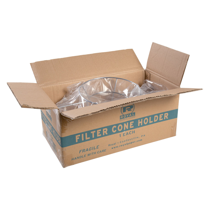 "Filter Cone Holder, 10"", Open Case"
