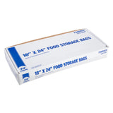 "High Density Food Storage Bag, 18"" x 24"", Closed Case"