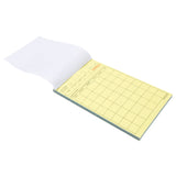 "White Server Pad, Carbonless, 2-Part Booked, 4.2"" x 7.25"", 8 Lines, Second Page"