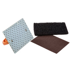 GRIDDLE CLEANING KIT (1 HOLDER, 1 PAD, 1 SCREEN)