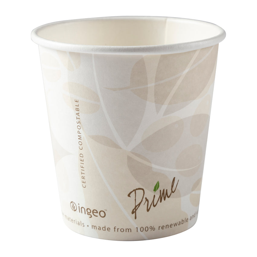 10 oz Compostable PLA Lined Hot Cups, 20/50