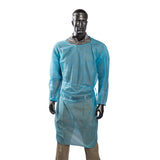 POLYPROPYLENE ISOLATION GOWN BLUE