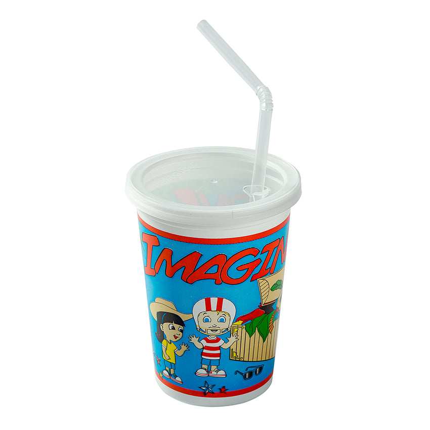 12 Oz Kids Cups, Imagination Theme