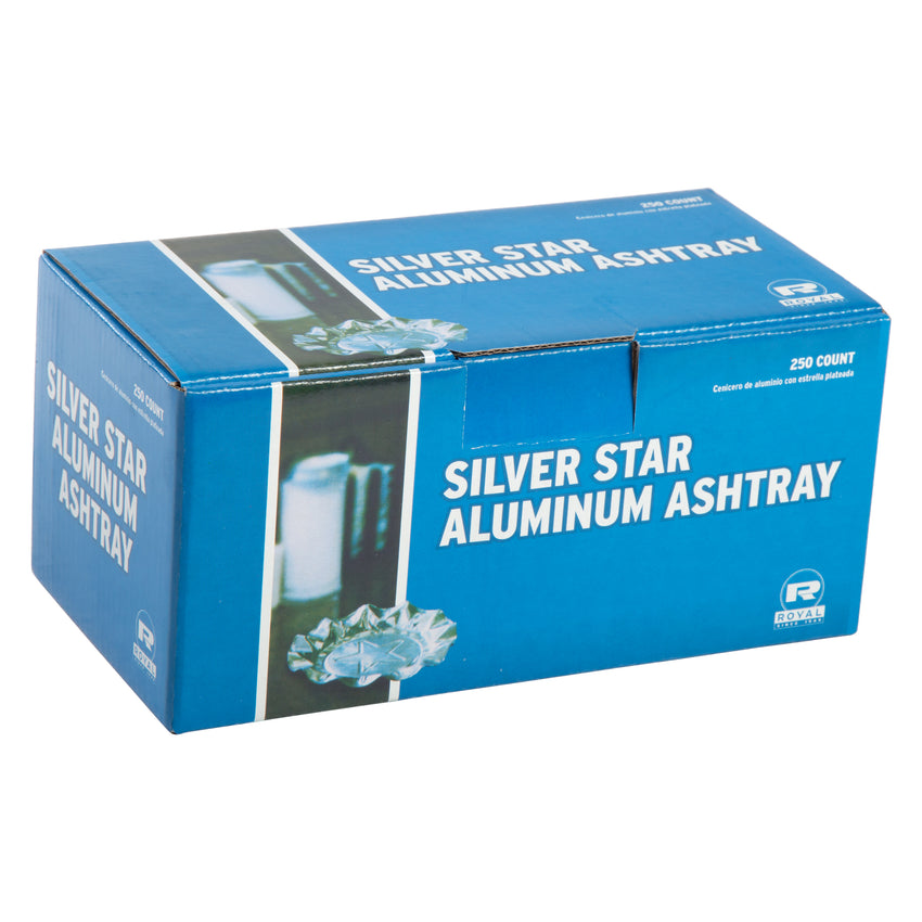 SILVER STAR ALUMINUM ASHTRAYS, Closed Inner Box