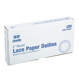 "4"" LACE DOILIE, inner packaging"