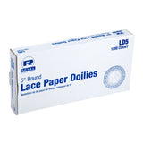 "5"" LACE DOILIE, inner packaging"