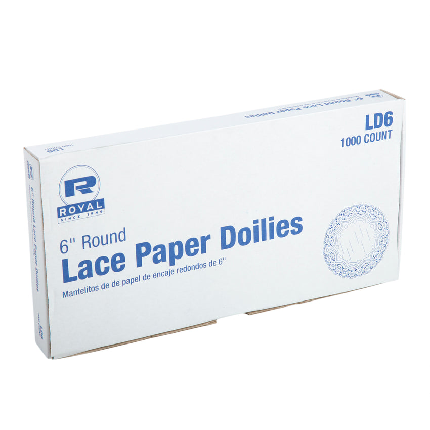 "6"" LACE DOILIE, inner packaging"