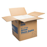 "14"" X 14"" AIRLAID NAPKIN FLAT Pack, Opened Case"