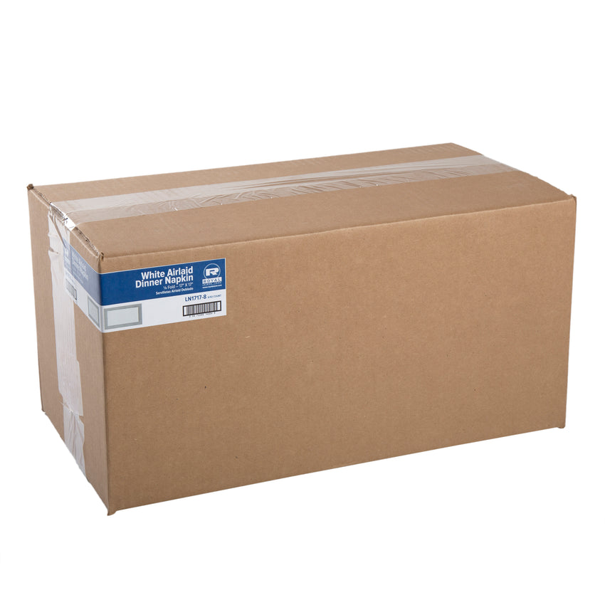 "AIRLAID NAPKIN 1/8 FOLD 17"" X 17"", Closed Case"