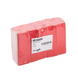 "Red Napkin Bands, 4.25"" x 1.5"", Inner Package"