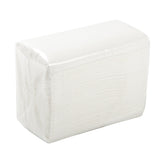 "White Dinner Napkin, 15"" x 17"", 1 Ply, Inner Package"
