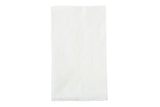 "White Dinner Napkin, 15"" x 17"", 1 Ply"
