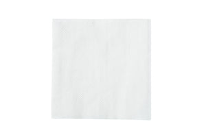 White Beverage Napkin, 9