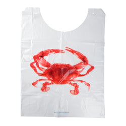 CRAB ADULT POLY BIB