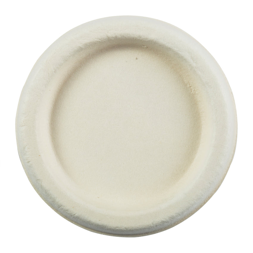 2 oz Fiber Portion Cup Lids, Overhead View